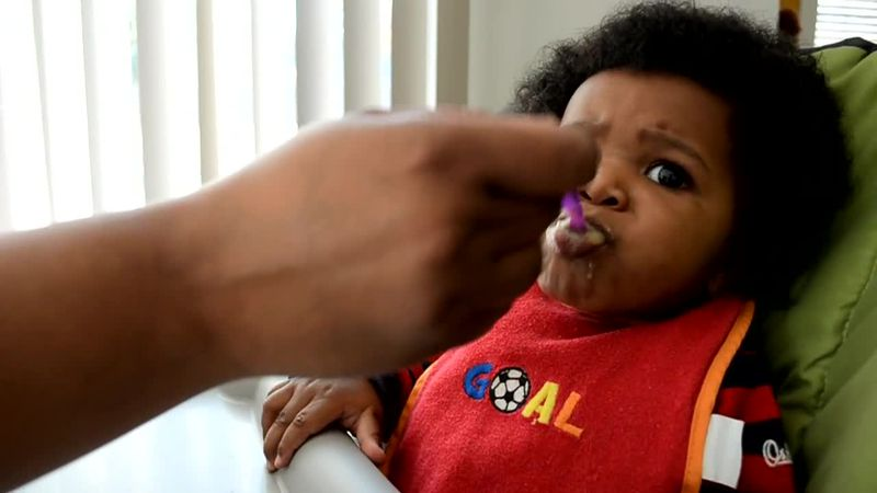 It's often a baby's first solid food, but the group is urging parents to stay away from rice...