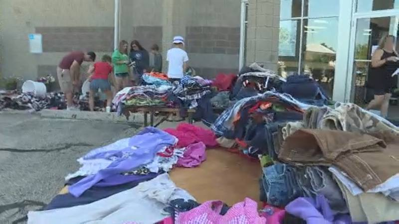 """Then & Now Adult Day Center hosted a """"no-cost"""" pop-up shop Saturday."""