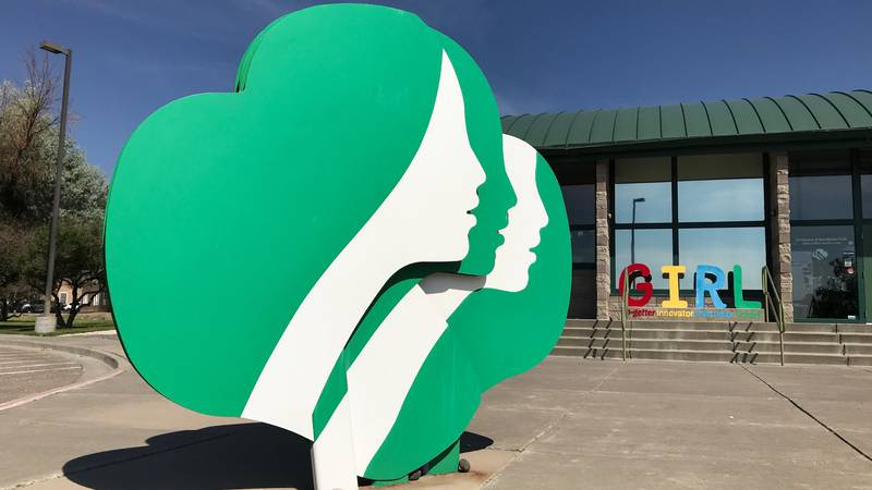 FILE - This June 7, 2021 file photo shows the headquarters of Girl Scouts of New Mexico Trails...