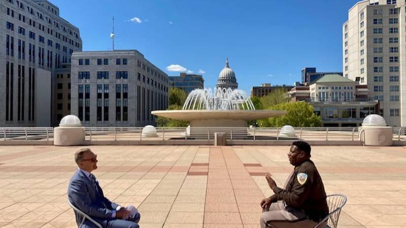 NBC15's John Stofflet has a one-on-one conversation with new Dane County Sheriff Kalvin Barrett.