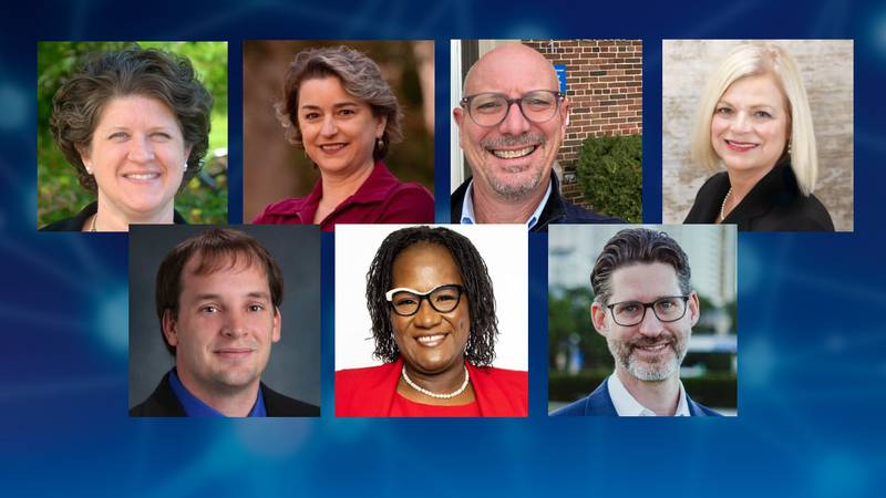 Superintendent of Public Instruction Candidates Top Row: Jill Underly, Shelia Briggs, Troy...