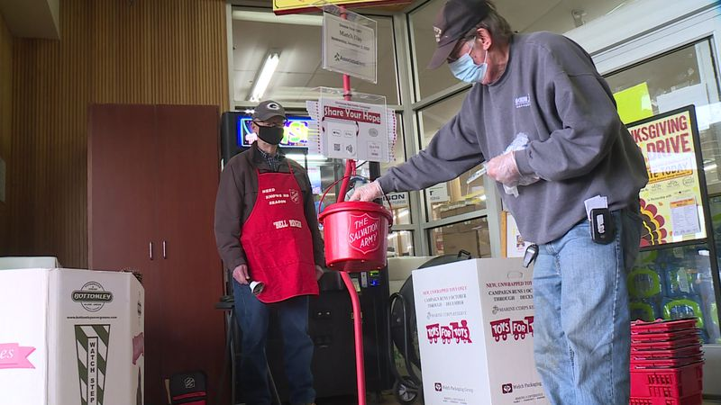 The Red Kettle Campaign accounts for 25 percent of annual funds. Since the COVID-19 pandemic...