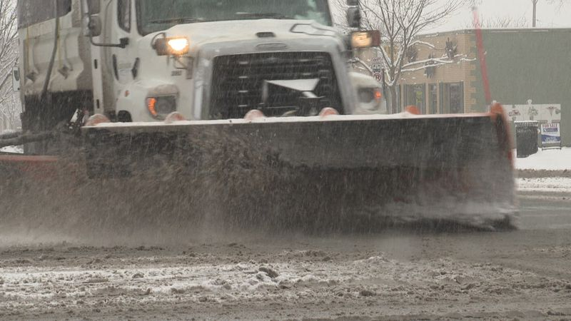 Wisconsin cities declare snow emergencies on January 25, 2021, ahead of predicted snowfall.