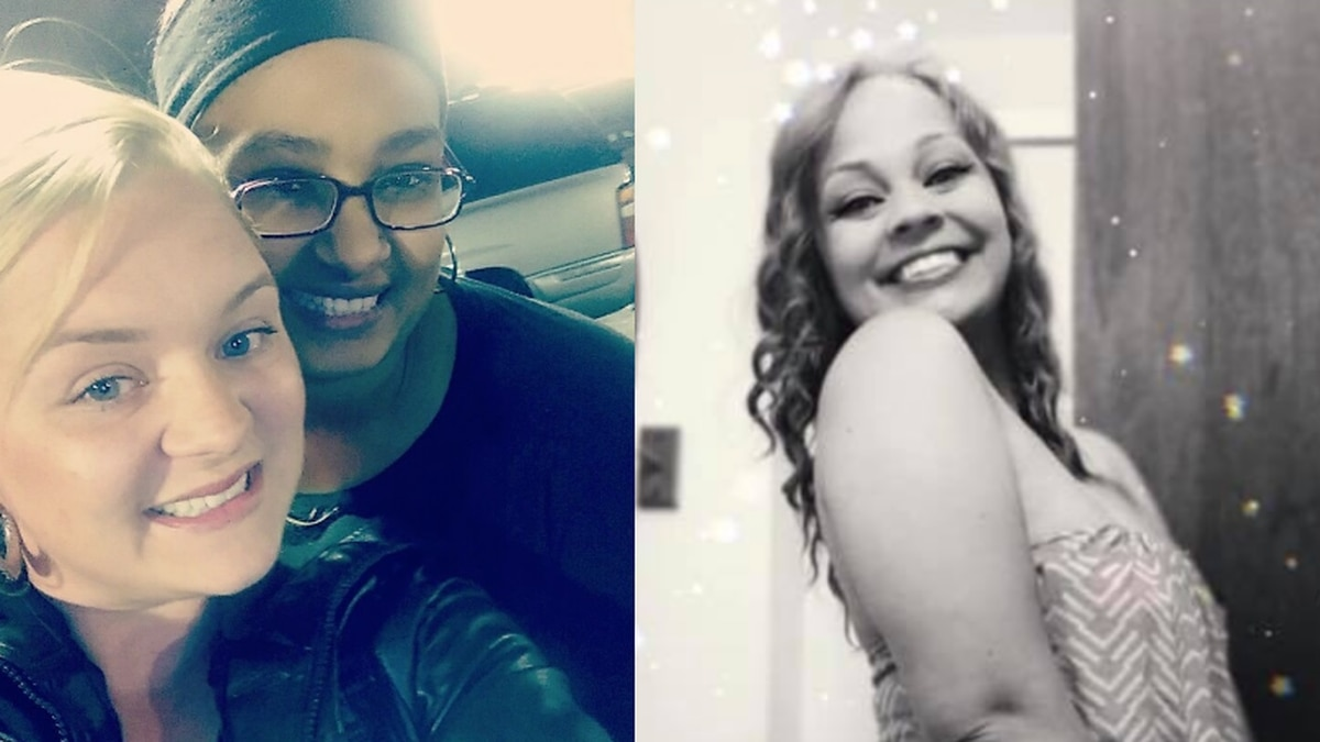 Seairaha Winchester, far left, and Brittany McAdory, right. (Source: Briana Neeley, Khaliyah...
