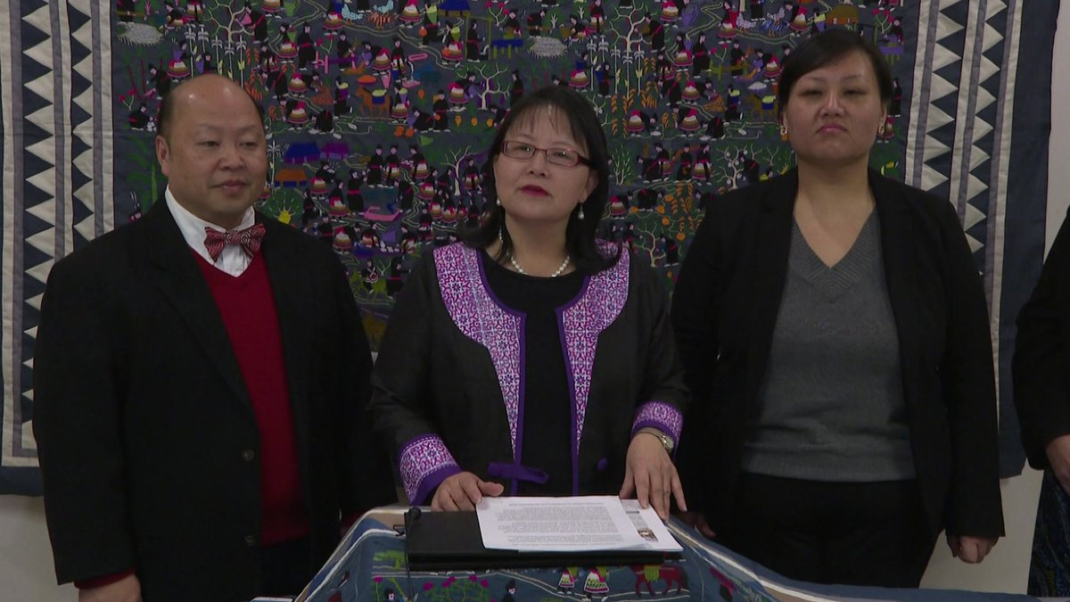 The announcement of the new effort (Source: WMTV)