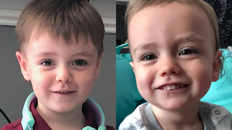 Adrian Shaw (left) and Kai Heywood have been missing since Sept. 22, 2021.