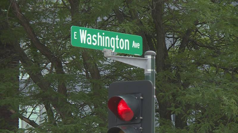 Walkers and bikers along East Washington Avenue are calling for change in Madison, following a...