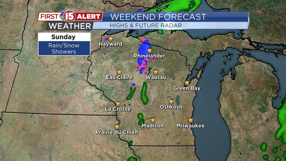 Wisconsin Weekend Forecast - Future Radar