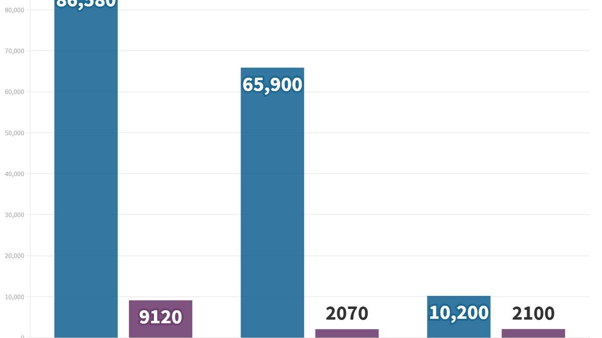 Comparison of vaccinations allocated vs. ordered.