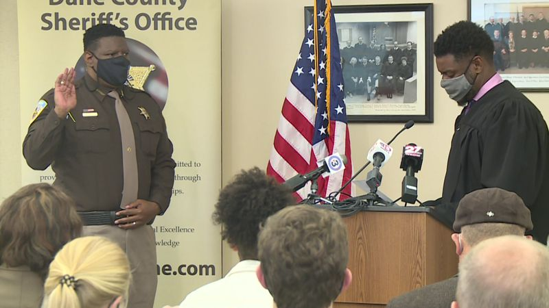 Kalvin Barrett is the first Black man to hold this role, replacing Sheriff Dave Mahoney, who...