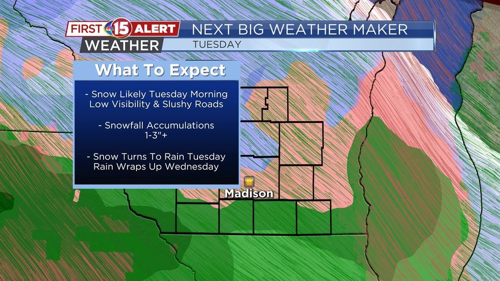 Next Big Weather Maker - Tuesday