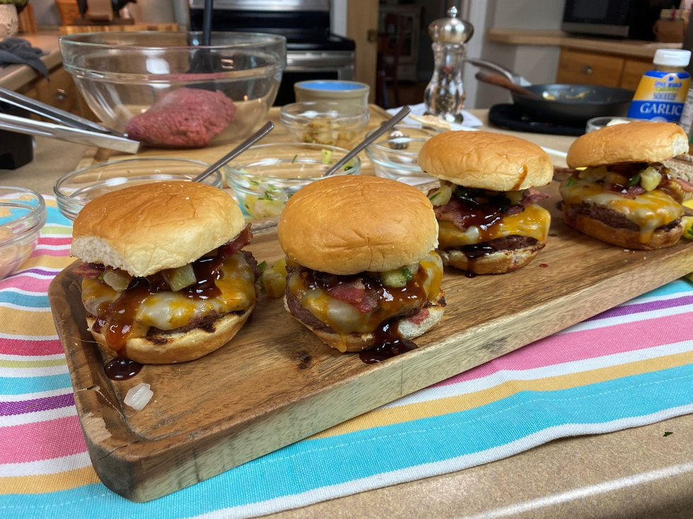 The Wisconsin Beef Council shares a twist on the classic barbeque burger.