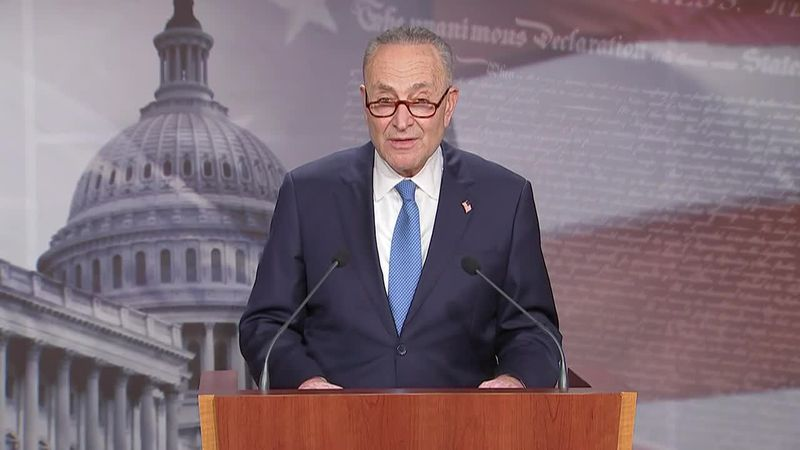Sen. Chuck Schumer, D-N.Y., the current minority leader, is in position to be majority leader...