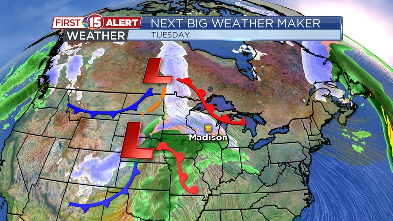 Next Big Weather Maker - Tuesday