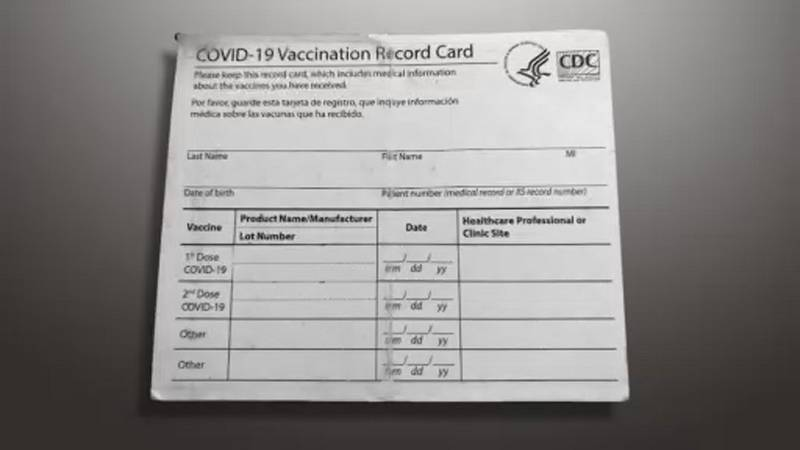 The FBI is sounding the alarm on fake Covid vaccination cards being sold online.
