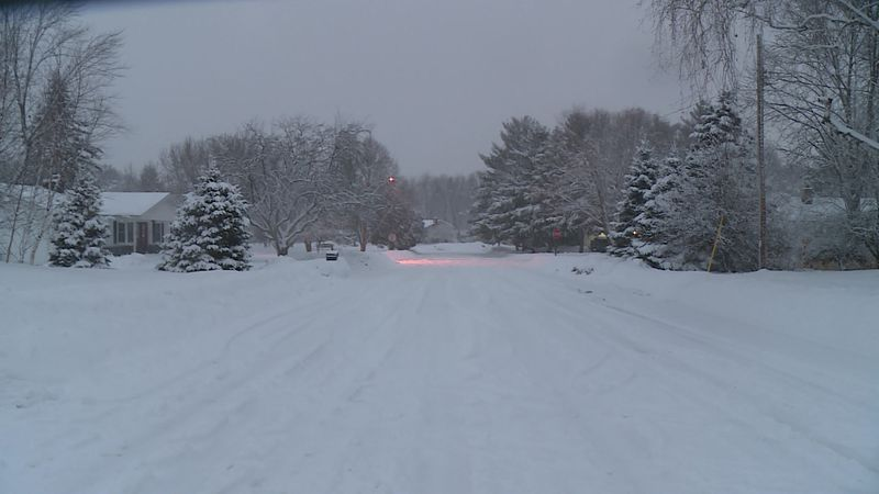 Madison Streets Division officials are urging homeowners to remove snow from driveways and...