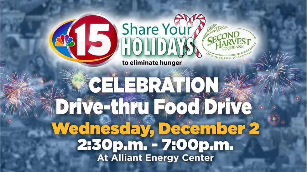 SYH Celebration Drive-thru food drive