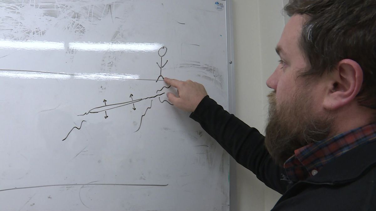 Geoscientist Lucas Zoet explains the science behind a frost quake.