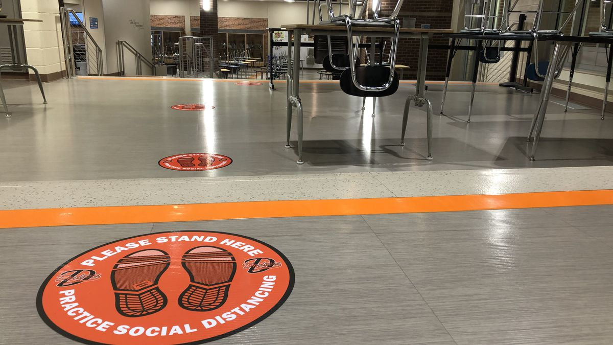 So far so good for Dodgeville High School and their re-opening plan.