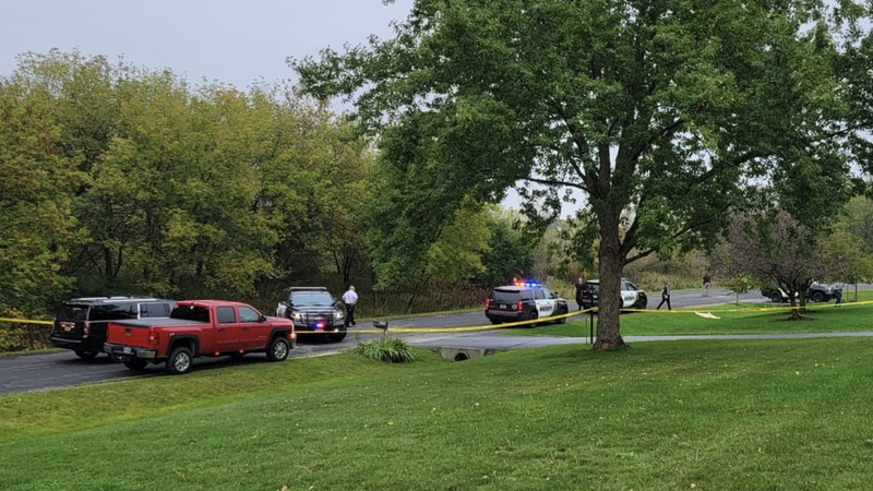 Officials respond to a small plane crash in Waukesha Co.