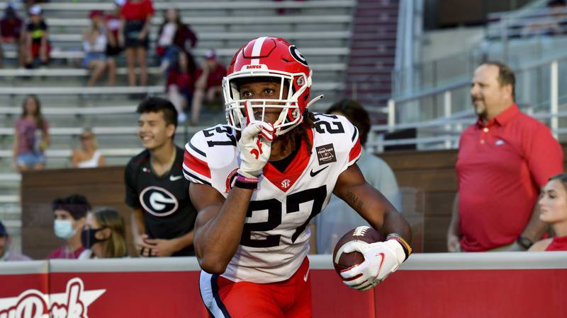 Georgia corner back Eric Stokes is the newest Green Bay Packer after the speedster was drafted...