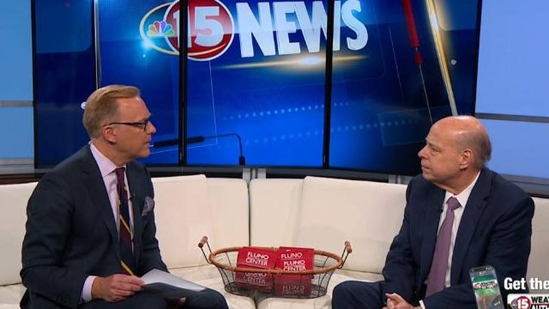 Fluno Center General Manager Andy Ableman is in the WMTV Studio to share more about the space...