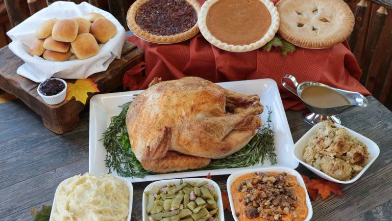 Average cost of Thanksgiving dinner for ten people lowest in decade according to the Farm...