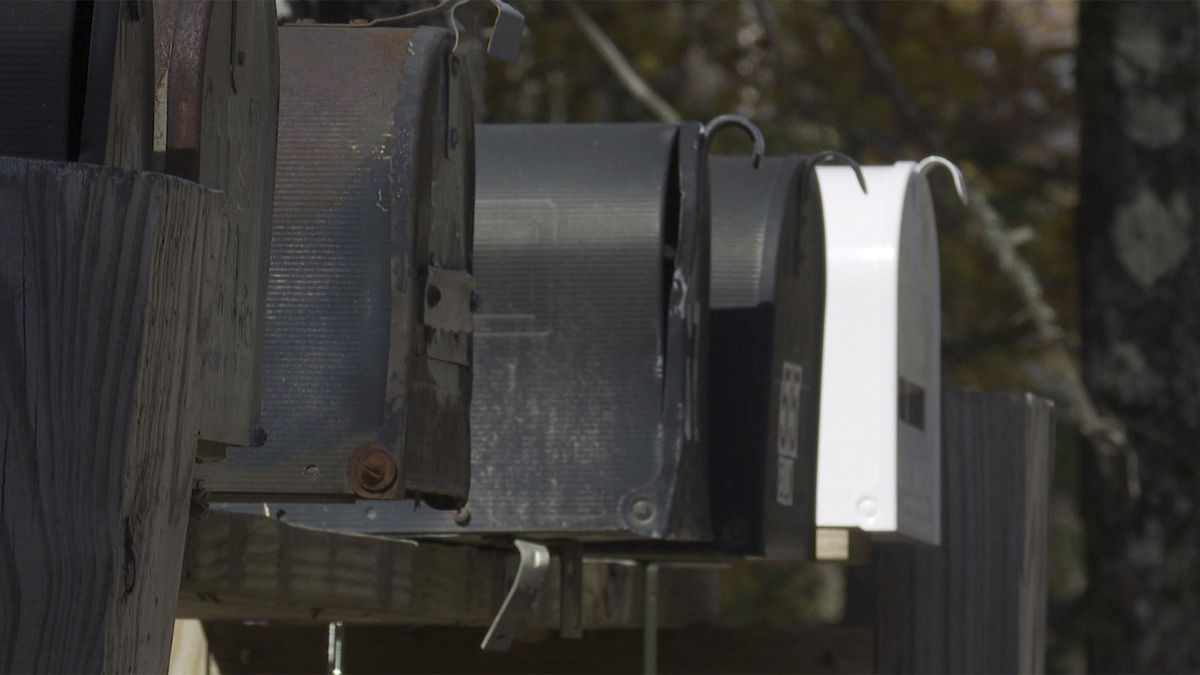 Vandals are targeting mail in the Mad River Valley.