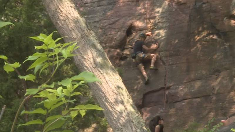 For the first time, sport climbing will be featured in the Olympics.
