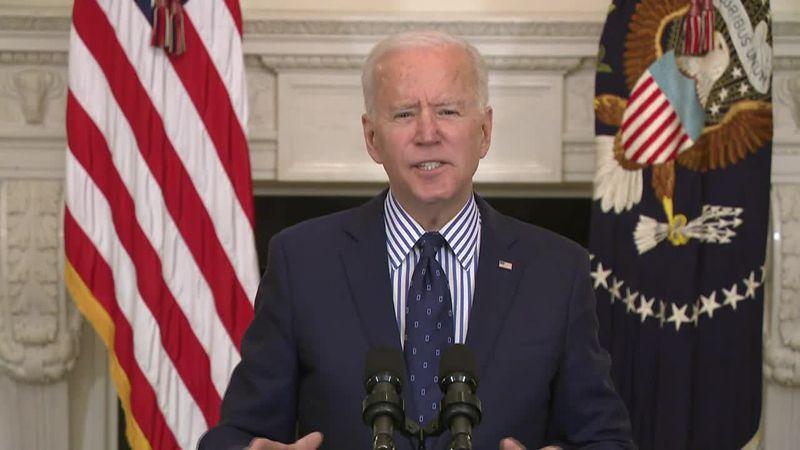 Biden: Virus aid bill designed to relieve suffering