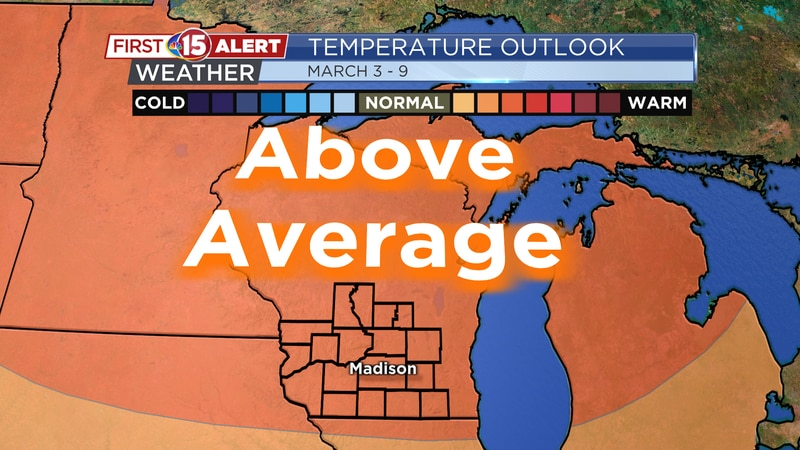 Temperature Outlook - March 3 - 9