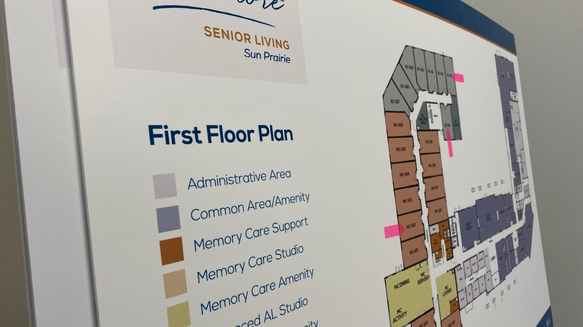 Talamore Senior Living floor plan