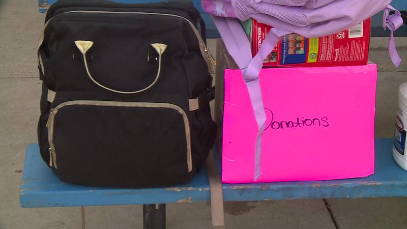 Nonprofit Waiting to Exhale Events organized the event, collecting donations from retailers and...