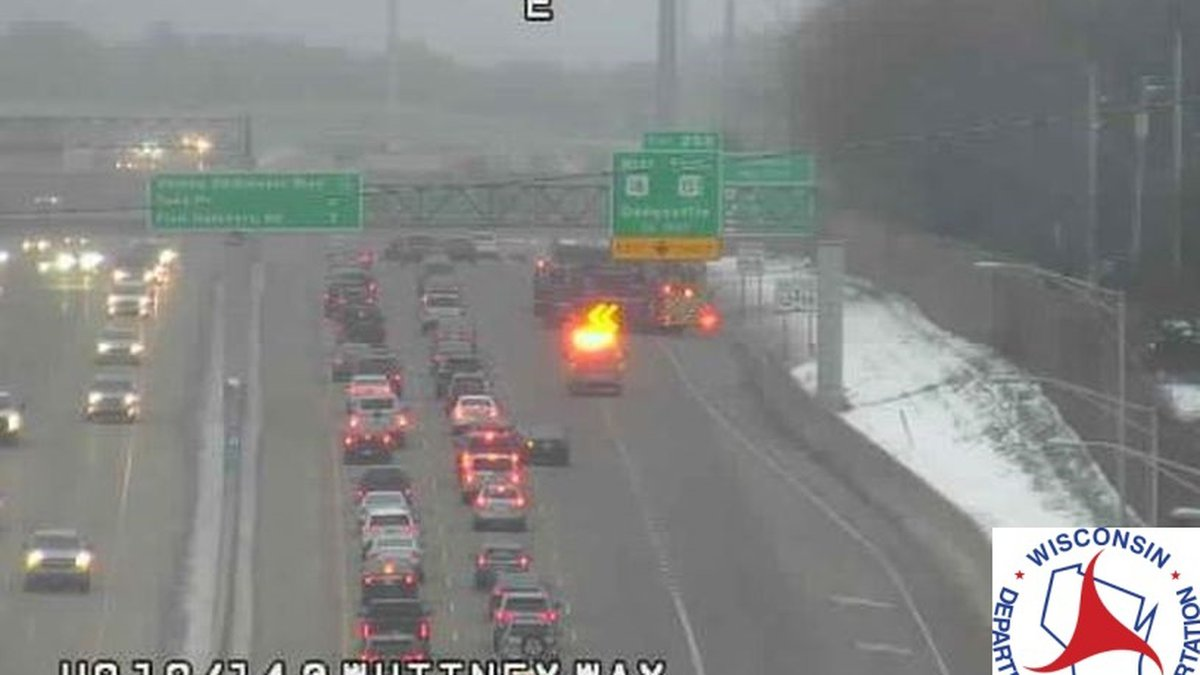 Crash on the EB Beltline at Whitney Way
