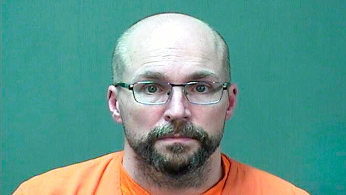 In this booking photo provided by the Ozaukee County Sheriff's Office Monday, Jan. 4, 2021 in...