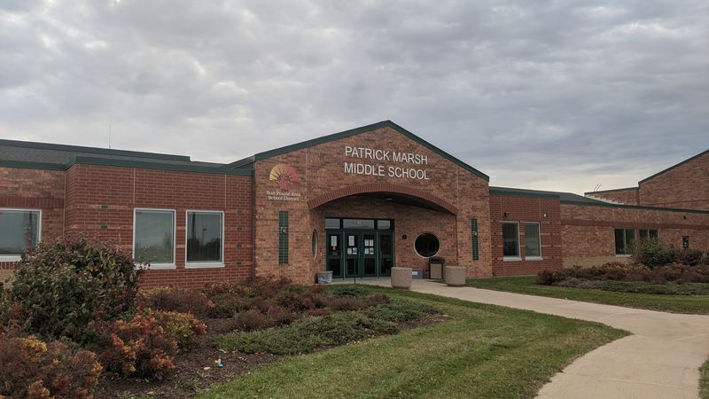 Patrick Marsh Middle School in Sun Prairie