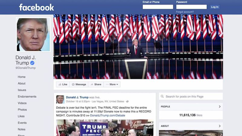 The Oversight Board has upheld Facebook's decision to suspend former President Donald Trump's...