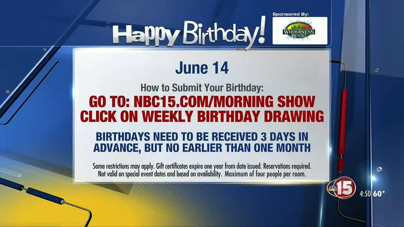 Birthdays 6-14