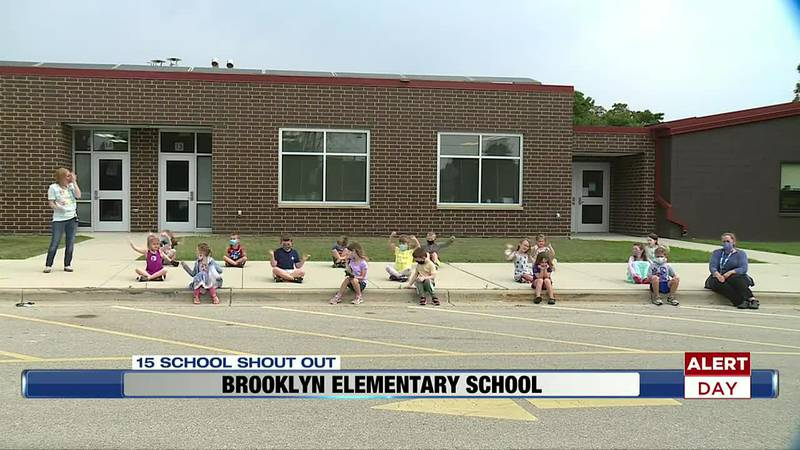 This NBC15 School Shout Out comes from Brooklyn Elementary School in Brooklyn.