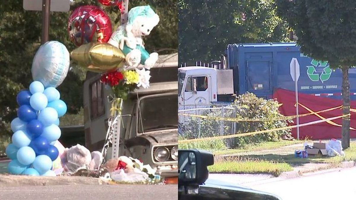 Memorial grows where 9-year-old boy was hit by garbage truck, died from injuries (FOX6)