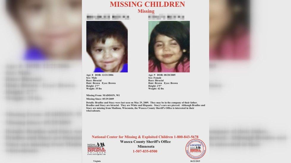 Melanie Campos officially declared her children missing in 2014