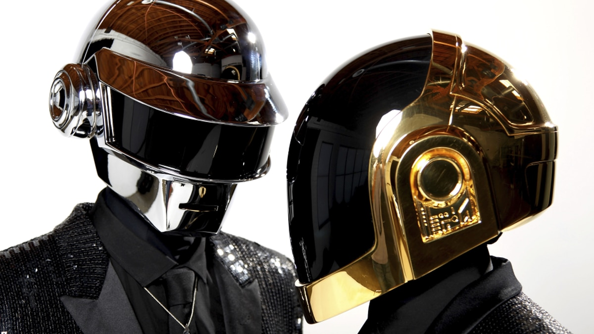 FILE - In this April 17, 2013 file photo, Thomas Bangalter, left, and Guy-Manuel de...