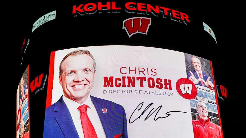 The University of Wisconsin-Madison announces Chris McIntosh will be its next Director of...
