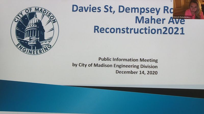The City of Madison's engineering division says they've seen more participation in virtual...