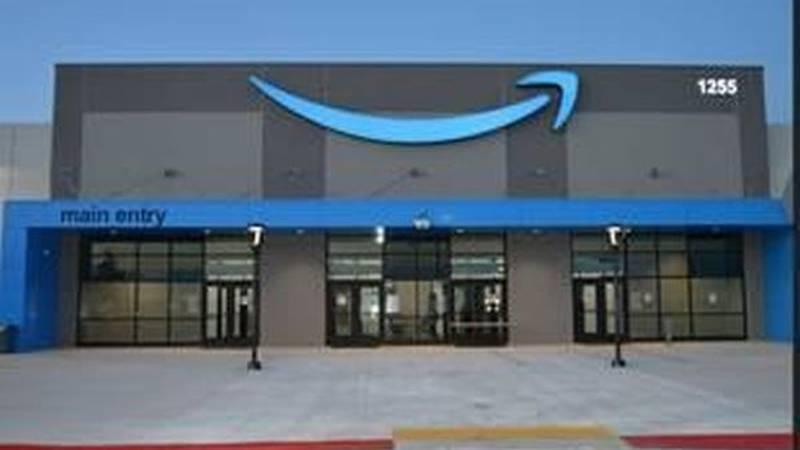 Amazon's new fulfillment center in Beloit.