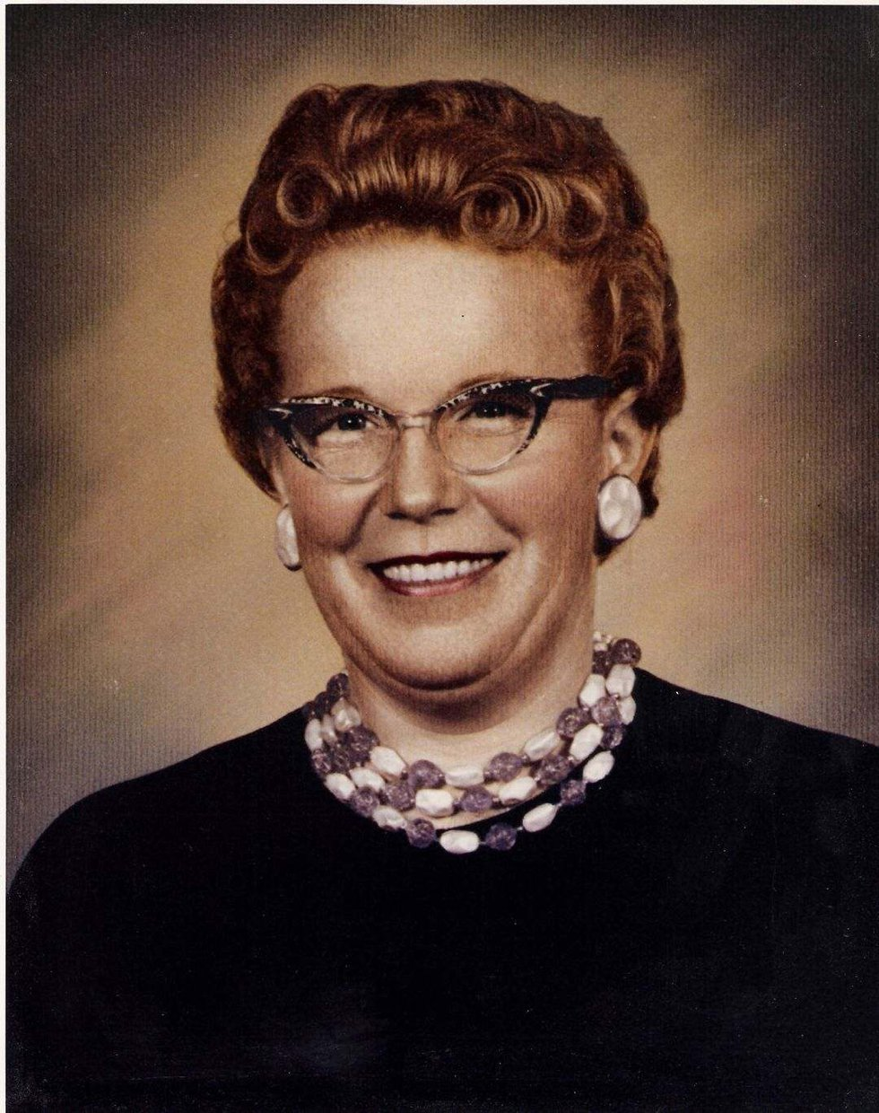 Frieda Wright, Marcy Brenum's mother, died in 1962 and at age 41