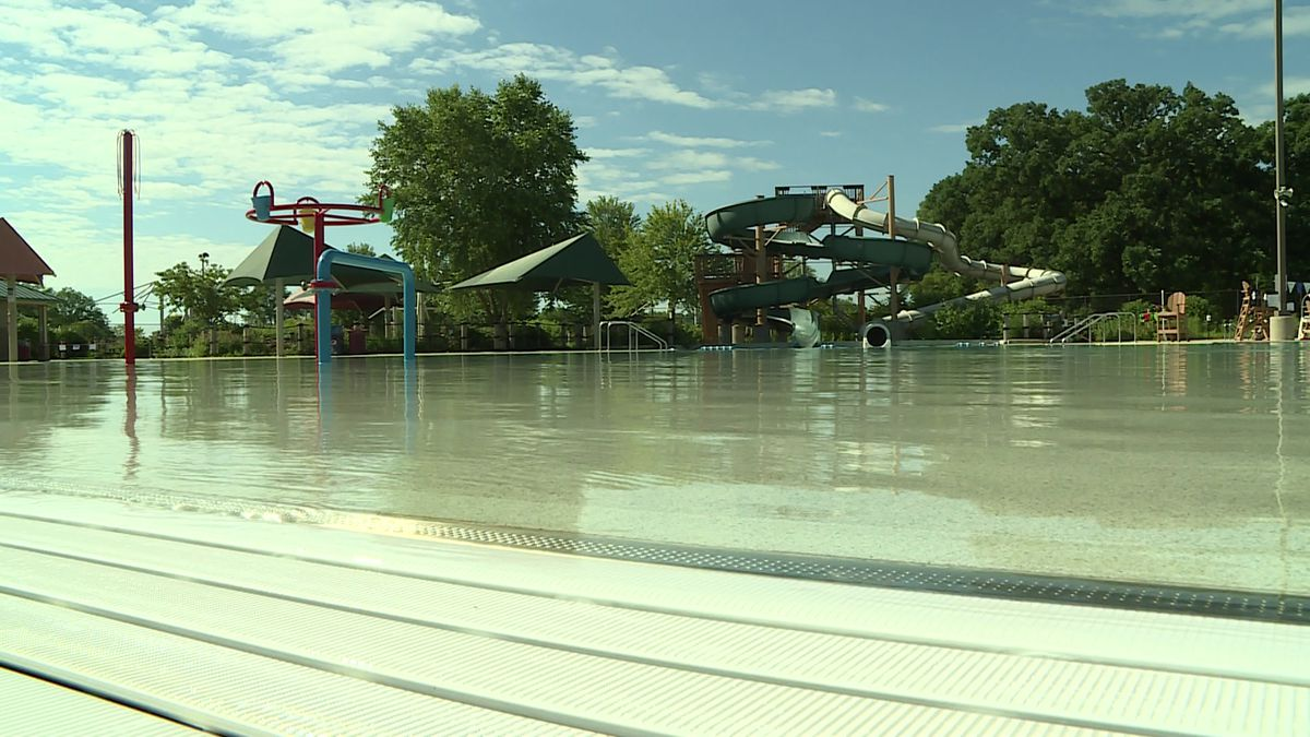 Goodman Pool off of Olin Avenue in Madison is reopen with significant safety modifications.