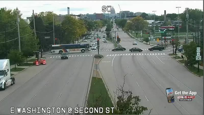 Pedestrian killed in crash on East Washington Ave.