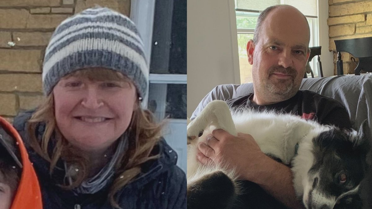 A family member reported Krista (left) and Bart (right) Halderson missing earlier this week...
