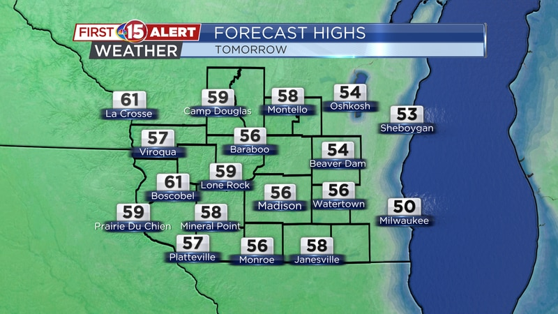 Friday Afternoon Highs